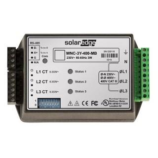 Solaredge electricity meter compteur modubus