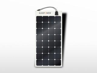 Panneau solaire flexible sunpower