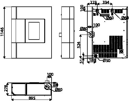 Poele A Granules 9 Kw De Couloir Etroit Red365